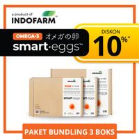 Telur Omega 3 Organik - INDOFARM Smart Eggs™ - Bundling