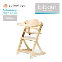 High Chair Yamatoya Sukusuku Plus +Table - Natural