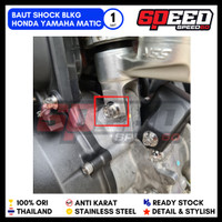 Baut Probolt Shock Belakang Honda Yamaha Matic Drat 12