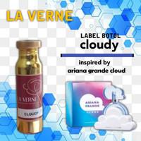 Parfum termurah ariana grande cloud 100ml bibit parfum non alkohol clo