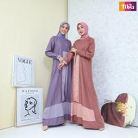 Gamis Nibras Dress Baju Muslim Terbaru NB B24