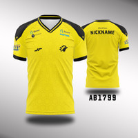 Kaos Jersey ONIC Esport Costum Fullprint - AB1799, M