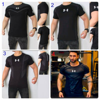 Sale Baju Kaos Gym Fitnes Pria Lengan Pendek