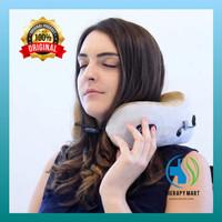 Bantal Pijat Leher Pemanas Travel Neck Massager Pillow Heater