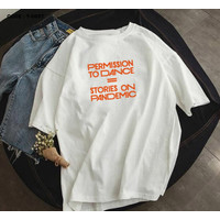 T-SHIRT / KAOS PERMISSION TO DANCE KPOP BTS / ARMY INDONESIA / REAL