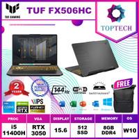 Asus TUF FX506HC RTX3050 - i5 11400H 8GB 512ssd 15.6FHD 144Hz W10+OHS
