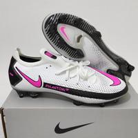 Sepatu Sepak Bola Nike Phantom GT Elite White Pink