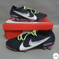 Sepatu Bola Nike Mercurial Vapor Elite Fg Black Purple Football