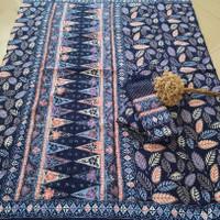 kain batik sarimbit keluarga bahan dobby warna pastel trusmi cirebon