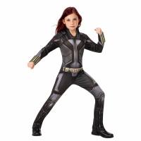Jual Baju Kostum Anak Superhero Black Widow Girls Costume Movie CS64