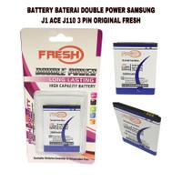 BATTERY BATERAI DOUBLE POWER SAMSUNG J1 ACE J110 3 PIN ORIGINAL FRESH
