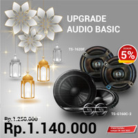 Paket Audio Pioneer Sound System Vocal Split & Coaxial 6 inch Murah!!