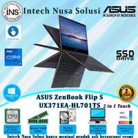 ASUS ZenBook Flip S UX371EA 2 in 1 i7-1165G7 16GB 1TB SSD W10H OHS 2Yr