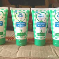 My Baby Diaper Rash Cream Krim Ruam Popok Bayi 50gr Aloevera