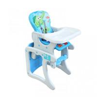 Kursi Makan Tinggi Anak Meja Belajar Baby Safe Separable High Chair