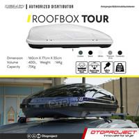 Roof Box OTORACK OTOPROJECT TOUR Bagasi Atas Mobil 400 Liter