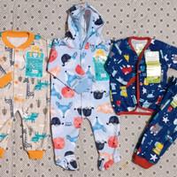 3 Setel (mix) pakaian bayi Libby&Velvet unisex untuk newborn-6 bulan