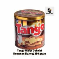Tango Wafer Renyah Rasa Coklat - Kemasan Kaleng 350 gram