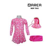 Baju renang muslimah anak SD usia 6-10 th motif - M