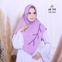 Hijab Jilbab Kerudung instan AR 193 Arrafi l Zoya ZM Rabbani Elzatta