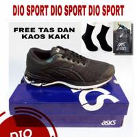 Sepatu Badminton Pria Wanita Terbaru Sepatu Bulutangkis Hitam Pria - Black Gold, 39