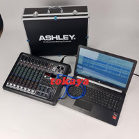 mixer audio ashley smr8 smr 8 (8 channel) original ashley garansi 1th1