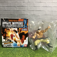 Action figure one piece attack motion shirohige 2