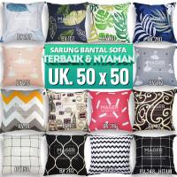 Sarung Bantal Sofa / Kursi - Uk. 50 x 50