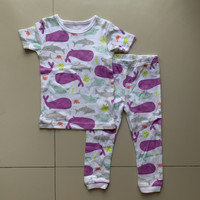 Baju Tidur Anak Perempuan Carter White Whale
