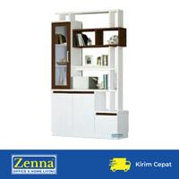 Zenna partisi ruangan / penyekat ruangan / pembatas ruangan - Putih, Packing