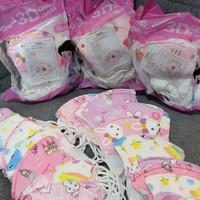 masker duckbill 3ply anak/baby 0-1 thn - baby 0-1, isi 50