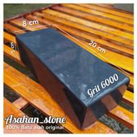 Batu asah asli alam grit 6000 halus finishing hight quality 20x8x5cm