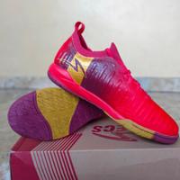 Sepatu Futsal Specs Swervo Thunderbolt 19 IN Emperor Red (400829) - 38