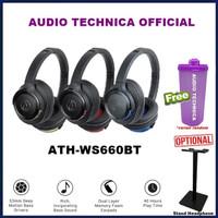 Audio-Technica ATH-WS660 BT Bluetooth Headset ATH WS660BT WS660
