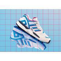 Sepatu Adidas ZX 0000 Evolution White Blue Pink Original
