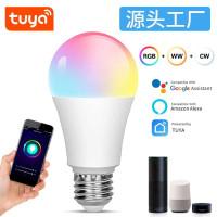 Smart Home Wifi LED Bulb 12W RGB + WW/CW TUYA Bohlam Lampu Warna