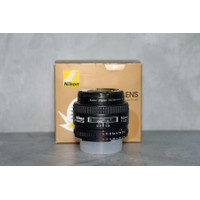 NIKON LENSA AF 50mm f1.4D Nikkor MULUS LIKE NEW Fullset BOX