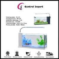 Aquarium USB Desktop Fish Tank Akuarium Ikan Hias Big ( TG 22 )