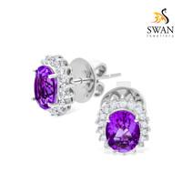 Anting Berlian Batu IMER1003024 Swan Jewellery