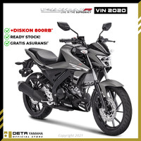 DETA-Yamaha VIXION R 2020 (OTR JABODETABEK) Sepeda Motor - Abu-abu