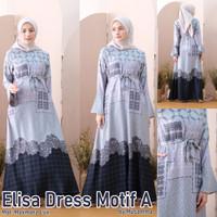 Gamis Maxmara Elisa Dress - Motif A, S/M