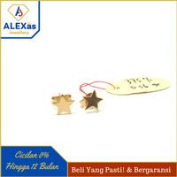 Anting Giwang Bintang Emas Kuning Kadar 375 ALEXas Jewellery22