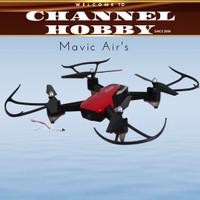 Drone SQ801/Drone Mavic 6 Axis Gyro Quadcopter - Merah