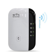 WIFI Repeater 300Mbps Wireless WiFi Signal Range Extender 802.11Adaptr