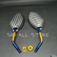 Spion Carbon Twotone Mini Honda Beat-Pcx-Vario-Scoopy-Spacy DLl