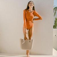 Lee Vierra Callie Leotard Swimwear, Baju Renang Wanita Tangan Panjang