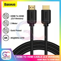Baseus Kabel HDMI 2.0 To HDMI 4K 60Hz UHD Monitor TV Laptop Proyektor