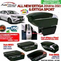 CONSOLE BOX ARMREST ALL NEW ERTIGA 2018 2019 dst -KONSOL BOX PNP USB
