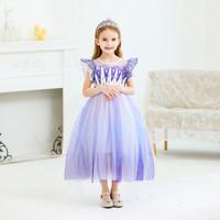 Jual Baju Elsa Frozen 2 Putih Kostum Princess Anak Ultah Terbaru