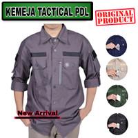 Kemeja Tactical PDL Lapangan Outdoor Baju Taktikal Komunitas Kerja
